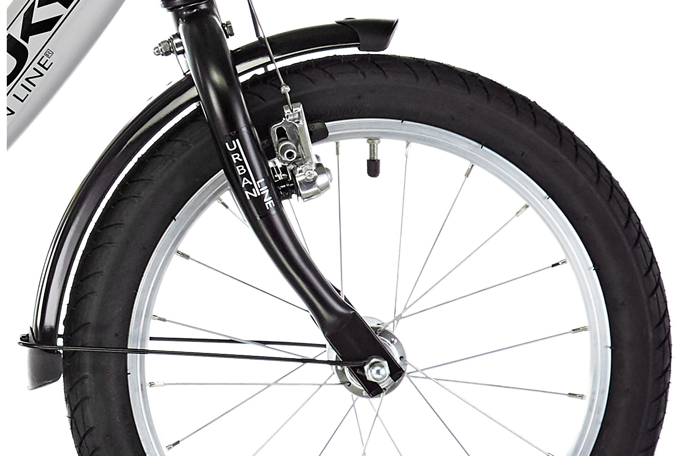 puky zl 16 1 alu fahrrad 16 kinder lichtgrau schwarz. Black Bedroom Furniture Sets. Home Design Ideas